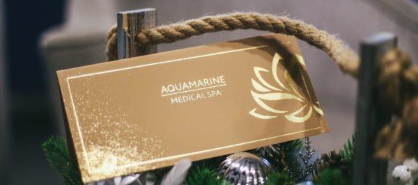 Подарочный сертификат Aquamarine Medical